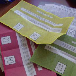 Icona Schede votazioni