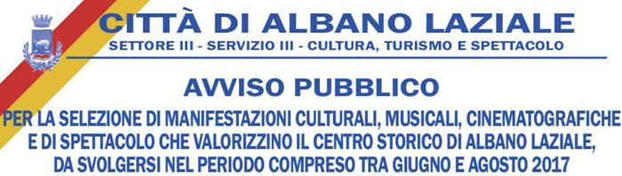 Avviso pubblico