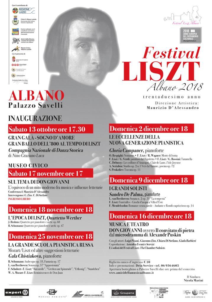 Locandina Franz Liszt