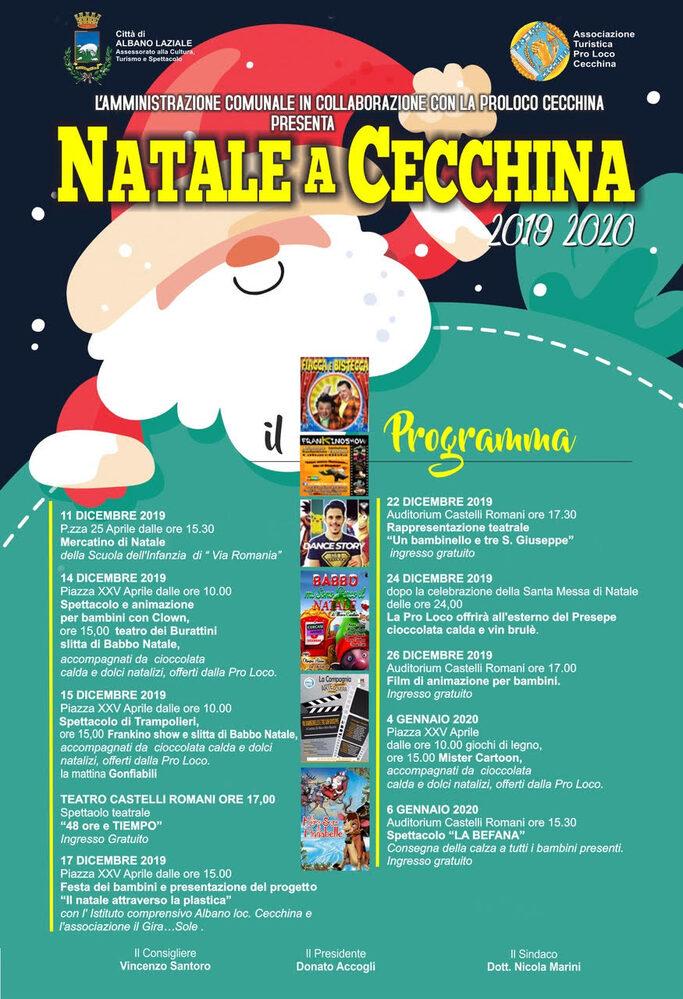 Immagine Natale a Cecchina 2019/2020