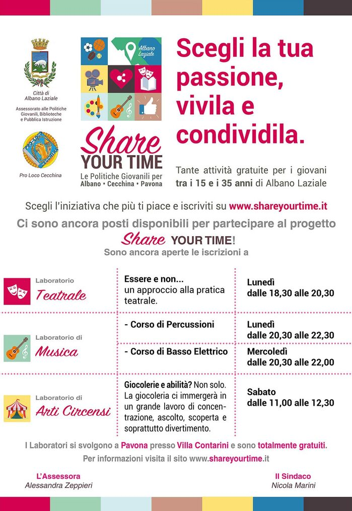 Locandina Share Your Time
