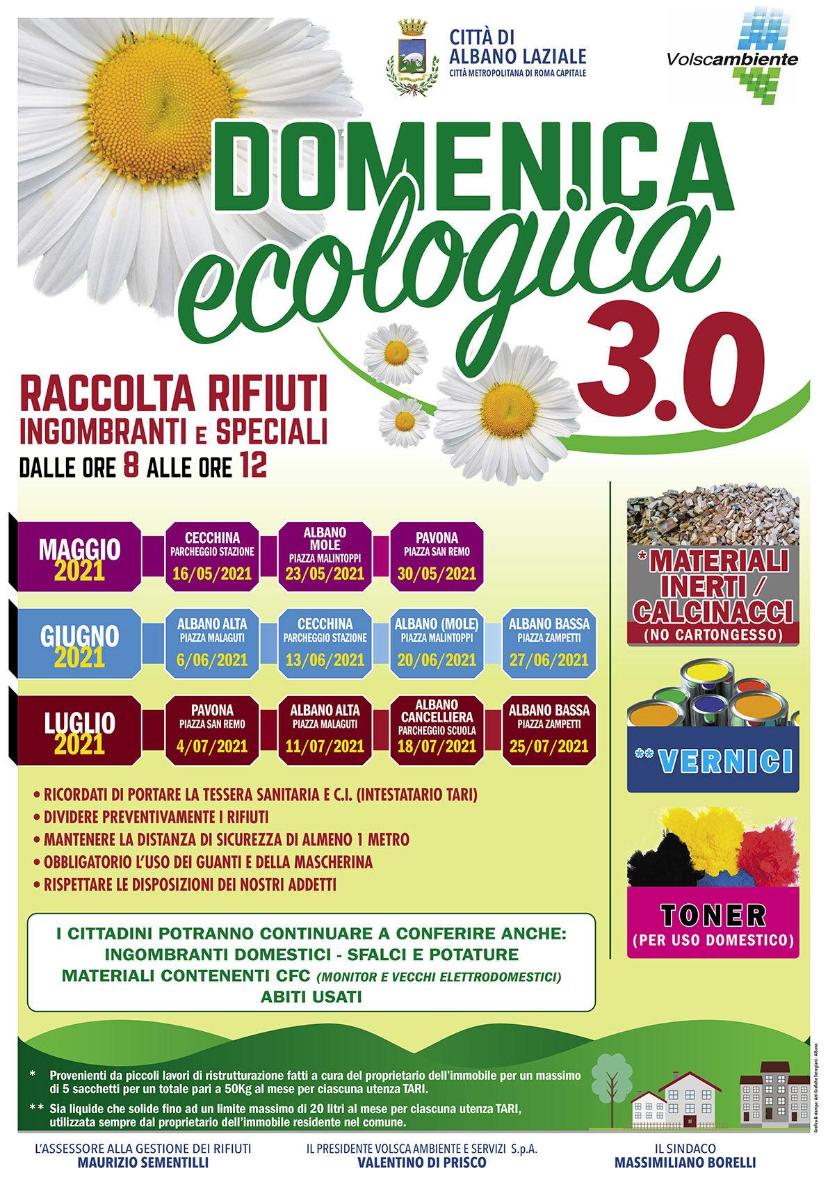immagine: locandina domenica ecologica 3.0