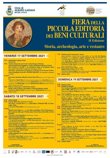 Banner Fiera della Piccola Editoria dei Beni Culturali