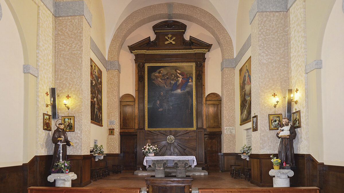 Convento dei Frati Cappuccini con la Chiesa di S. Francesco