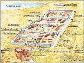 Accampamento della Seconda Legione Partica (Castra Albana)