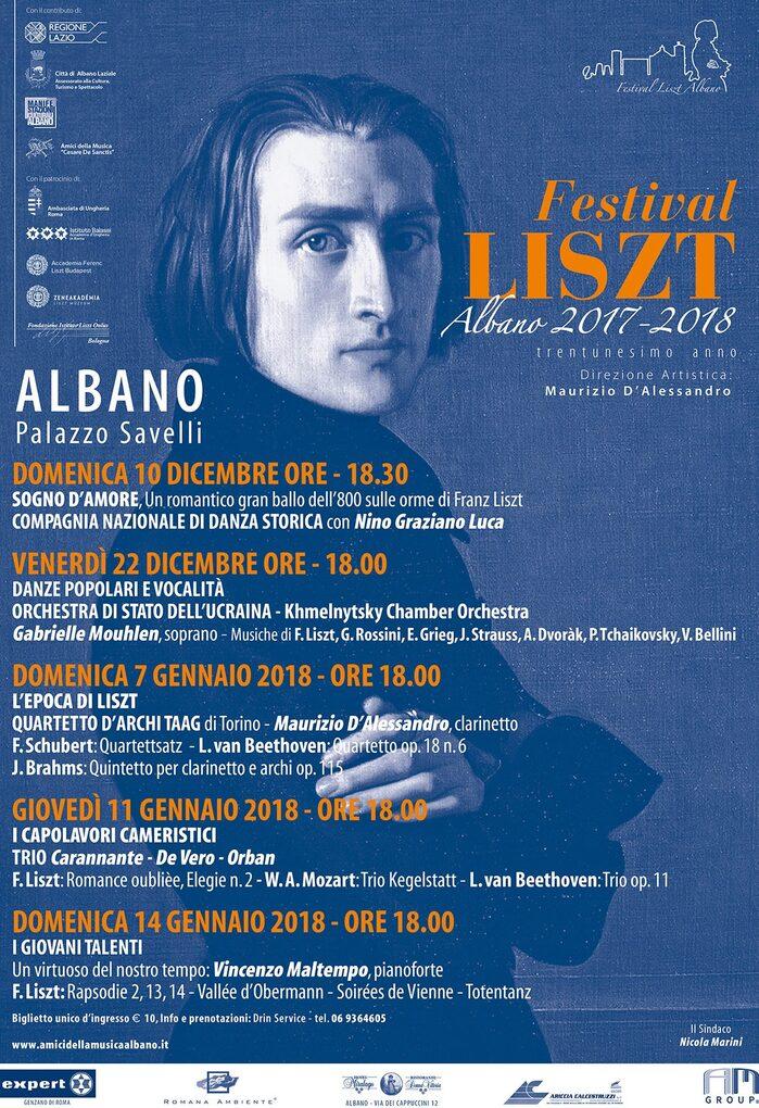 Locandina Festival LISZT