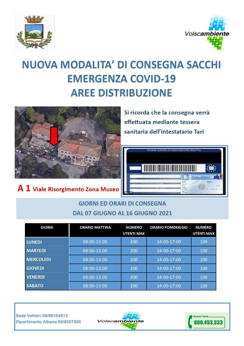 ALBANO CENTRO - A 1 - Viale Risorgimento (Museo) - dal 7 al 16 Giugno 2021