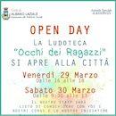 Icona Open Day Ludoteca (Occhi dei Ragazzi)