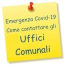Icona orari uffici emergenza covid