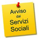 Avviso dai Servizi Sociali