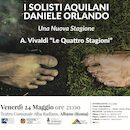 "Locandina ""I solisti Aquilani e Daniele Orlando"""