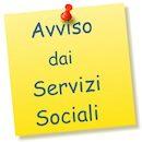 Avviso Servizi Sociali